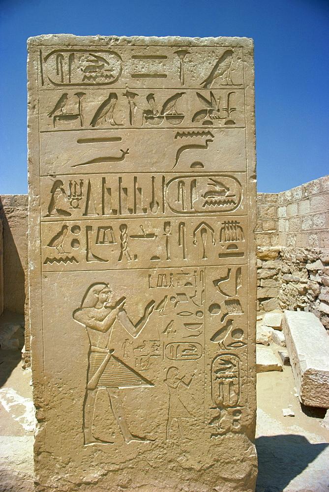 Saqqara, Egypt, North Africa, Africa - 1-8803