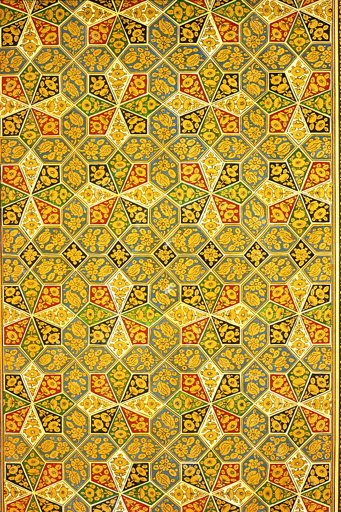 Cover of a Koran, Mashad, Iran, Middle East - 1-8949