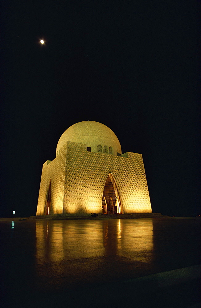 Quaid-i-Azam Memorial, Karachi, Pakistan, Asia - 1-9175