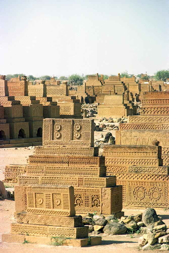 Chaukundi, Sind, Pakistan, Asia - 1-9234