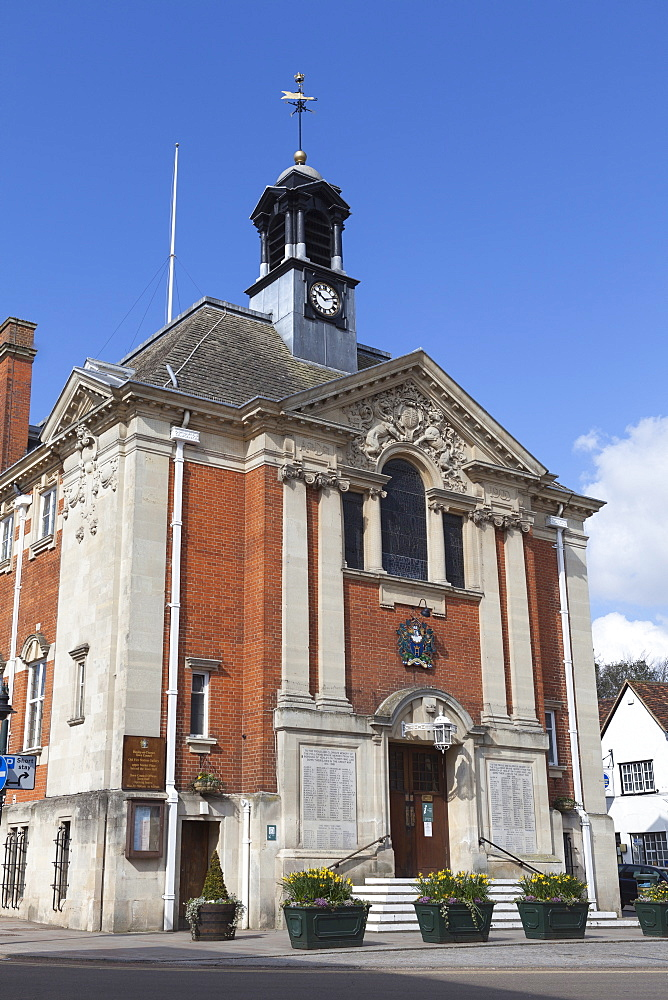 Town Hall, Henley-on-Thames, Oxfordshire, England, United Kingdom, Europe