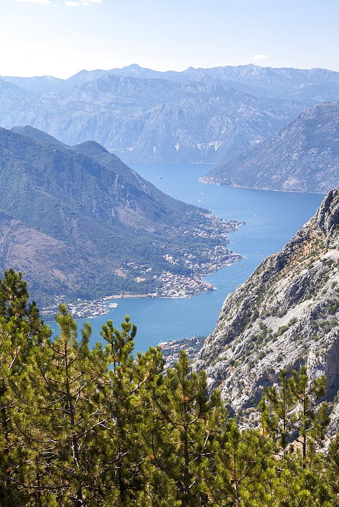 Bay of Kotor, UNESCO World Heritage Site, Montenegro, Europe