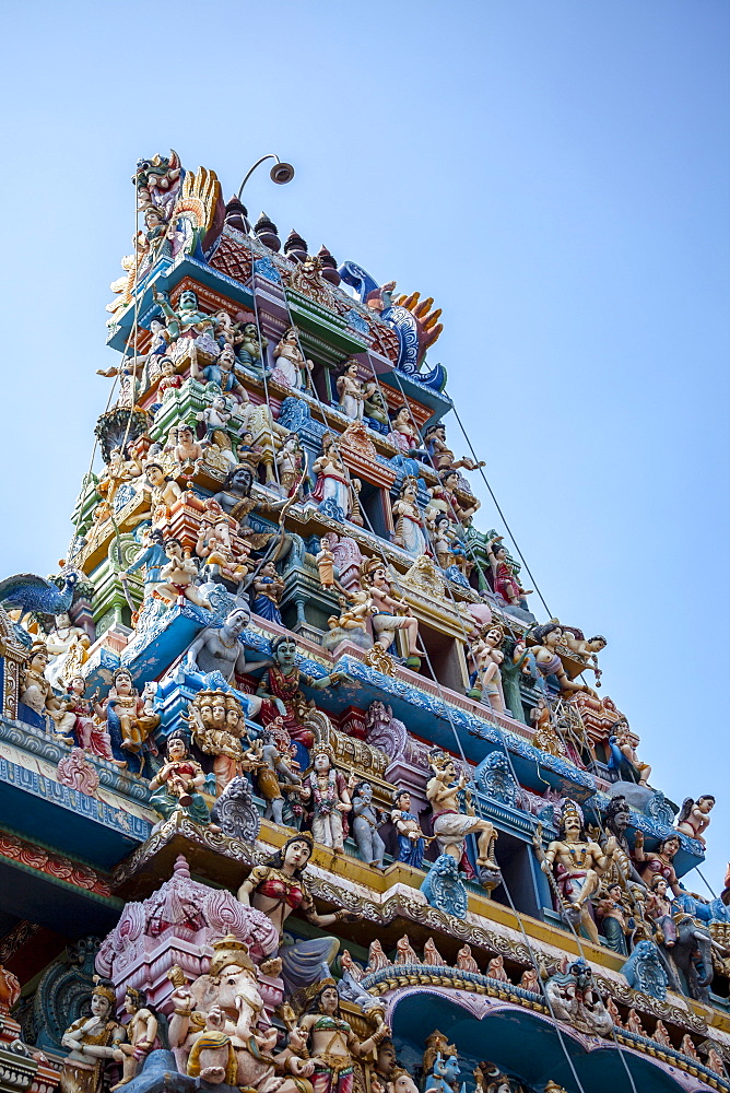 Shri Kathirvelayutha Swamy Kovil, a Hindu Temple, Colombo, Sri Lanka, Asia