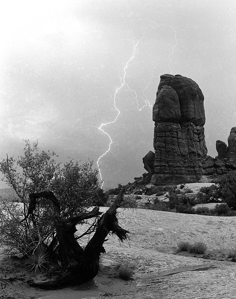 Lightning; Arches National Park; Utah - 1065-5