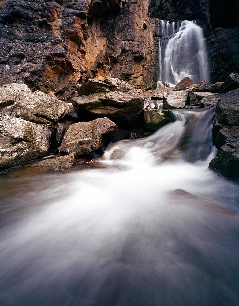 Waterfalls; Beartooth Falls; Beartooth Mountains;  Wyoming - 1065-9