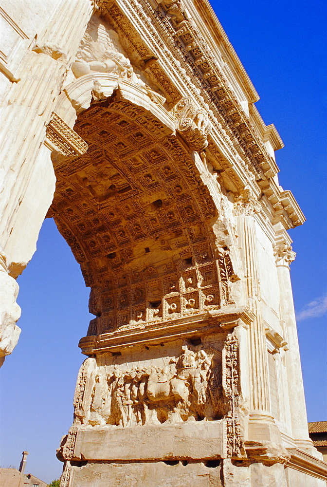 Arch of Titus, Forum, Rome, Lazio, Italy, Europe