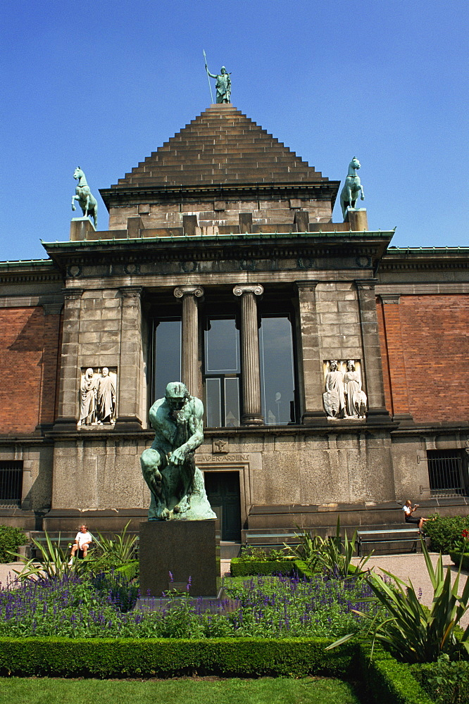 Sculpture Museum, Ny Carlsbergs Glyptotek, Copenhagen, Denmark, Scandinavia, Europe - 110-20559