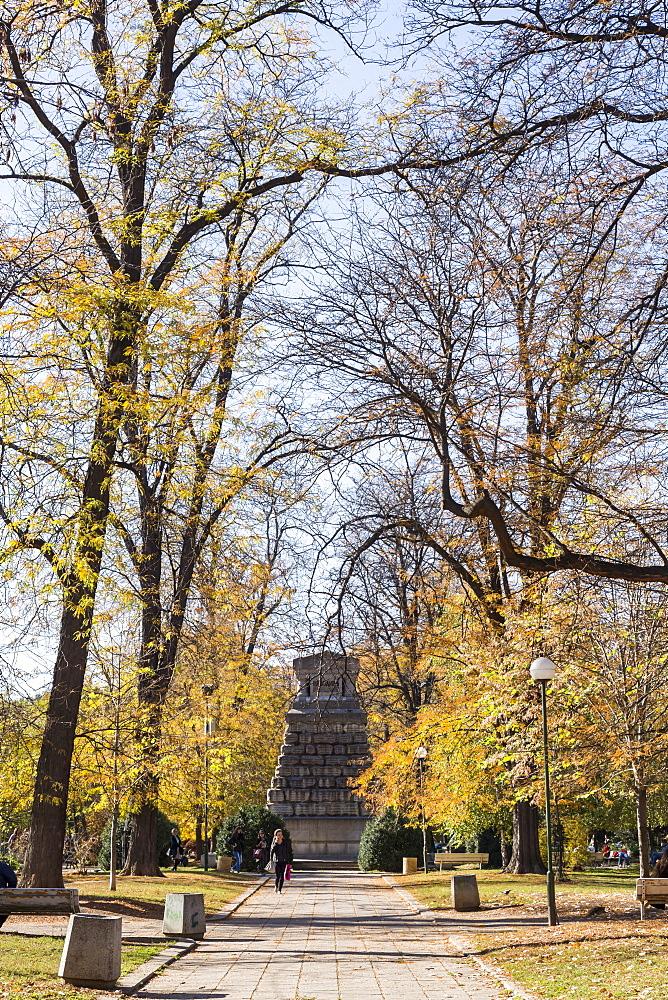 Doktorska, Park, Sofia, Bulgaria, Europe - 1102-71
