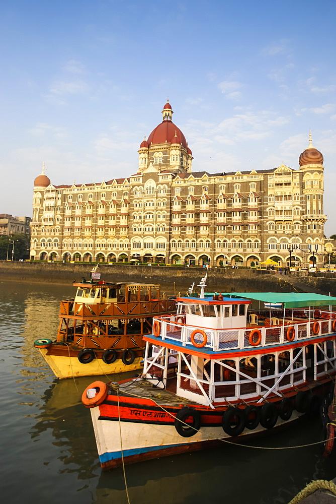 Taj Mahal Palace Hotel, Mumbai, Maharashtra, India, Asia