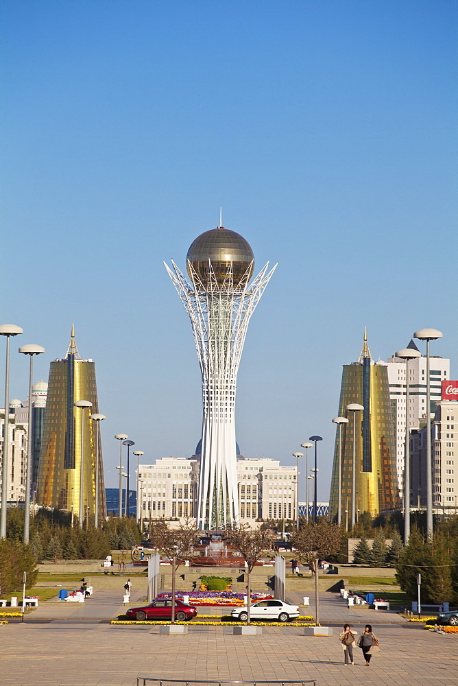 Bayterek Tower, Astana, Kazakhstan, Central Asia, Asia