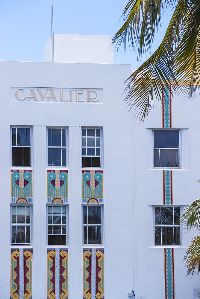 Cavalier Hotel, Ocean Drive, South Beach, Miami Beach, Miami, Florida, United States of America, North America
