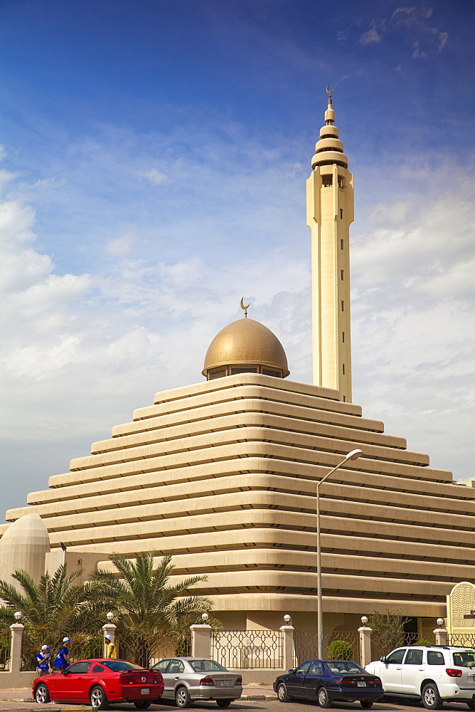 Pyramid Mosque, Salmiya, Kuwait City, Kuwait, Middle East