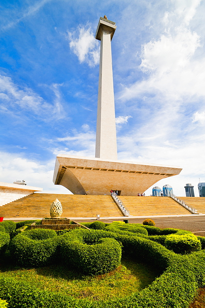 The National Monument, Monas in Merdeka Square, Jakarta, Java, Indonesia, Southeast Asia, Asia