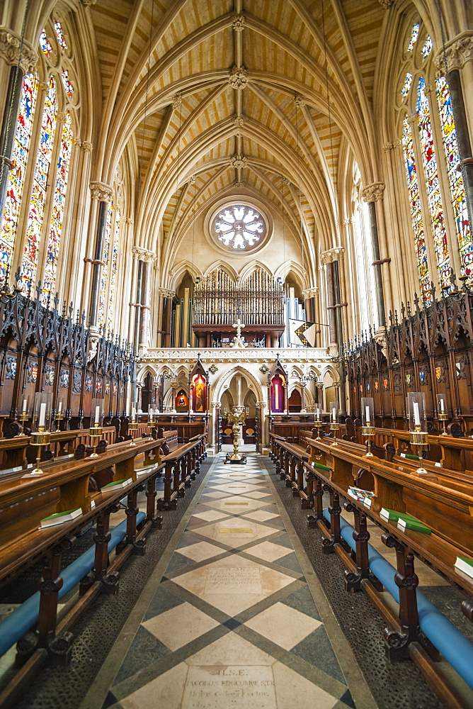 Exeter College Chapel, University of Oxford, Oxfordshire, England, United Kingdom, Europe