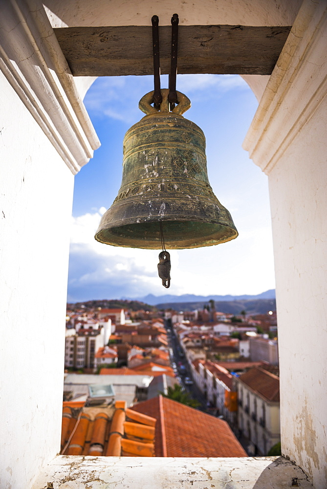 Iglesia Nuestra Senora de La Merced (Church of Our Lady of Mercy), Historic City of Sucre, UNESCO World Heritage Site, Bolivia, South America