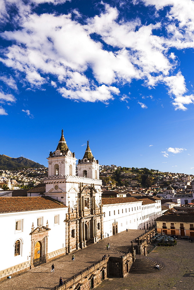 City of Quito, the Historic Centre of Quito Old Town, UNESCO World Heritage Site, Pichincha Province, Ecuador, South America