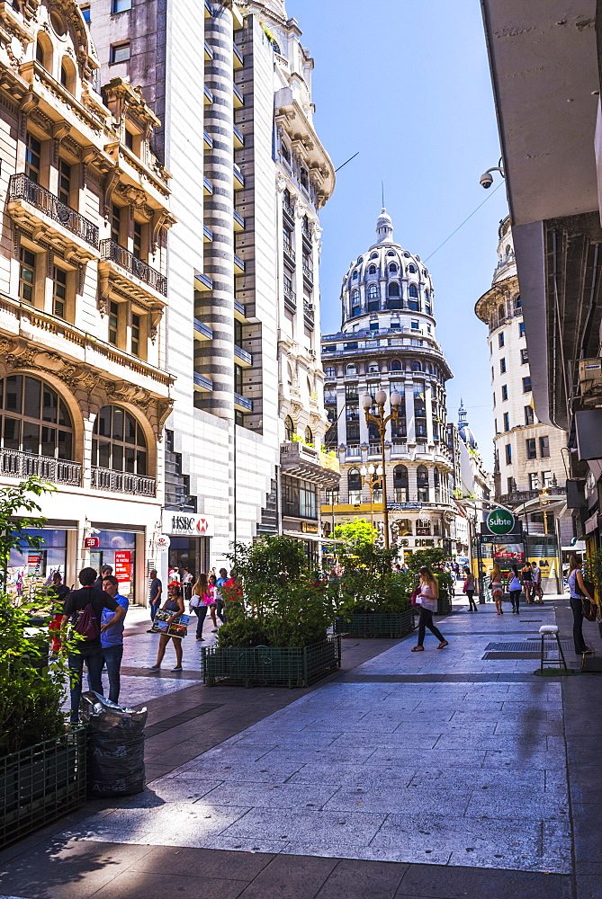 Floride Street, downtown Buenos Aires, Argentina, South America