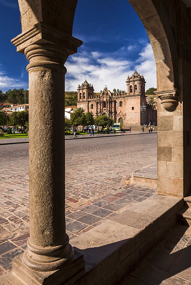 Cusco Cathedral (Basilica of the Assumption of the Virgin), Plaza de Armas, Cusco, Cusco Region, Peru, South America