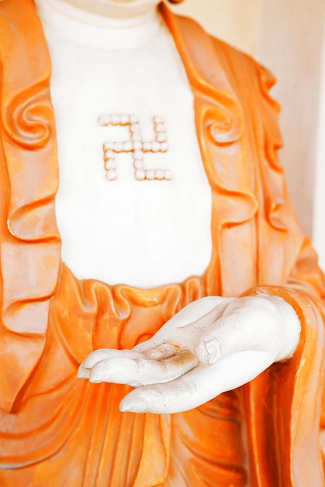 Statue at Kek Lok Si Temple, Penang, Malaysia, Southeast Asia, Asia - 1109-276