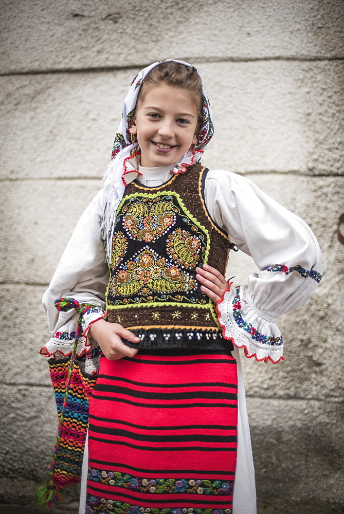 Traditional Clothes of Romania Festival, Nasaud, Transylvania, Romania, Europe - 1109-2977