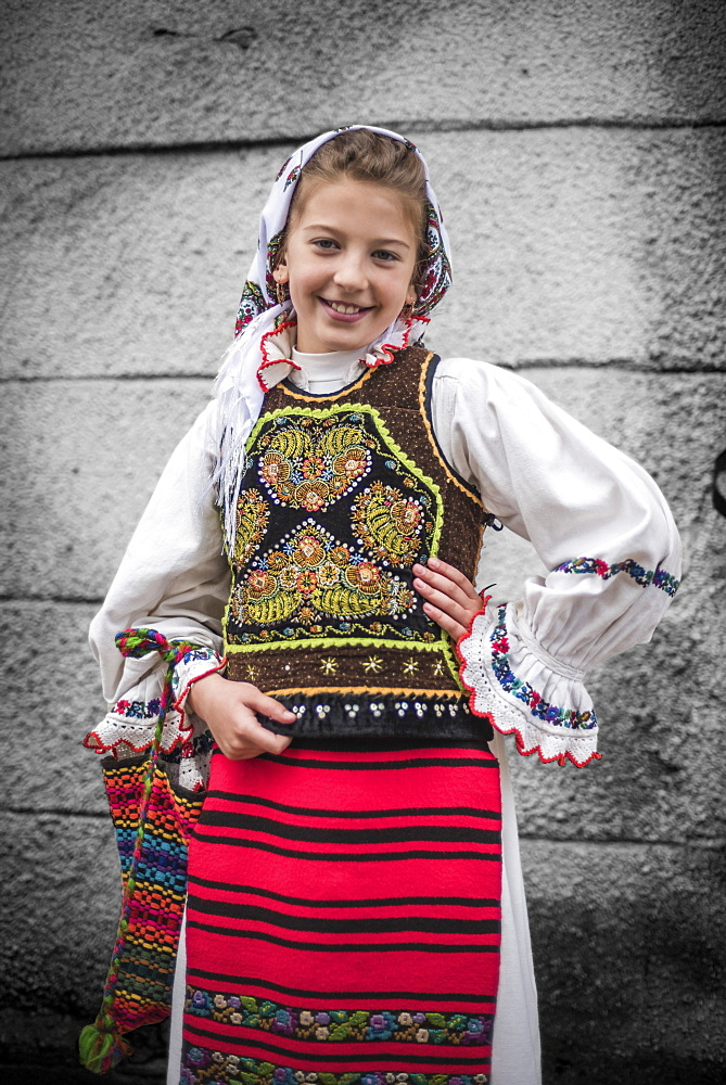 Traditional Clothes of Romania Festival, Nasaud, Transylvania, Romania, Europe