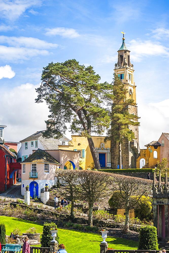 Portmeirion, Gwynedd, North Wales, Wales, United Kingdom, Europe