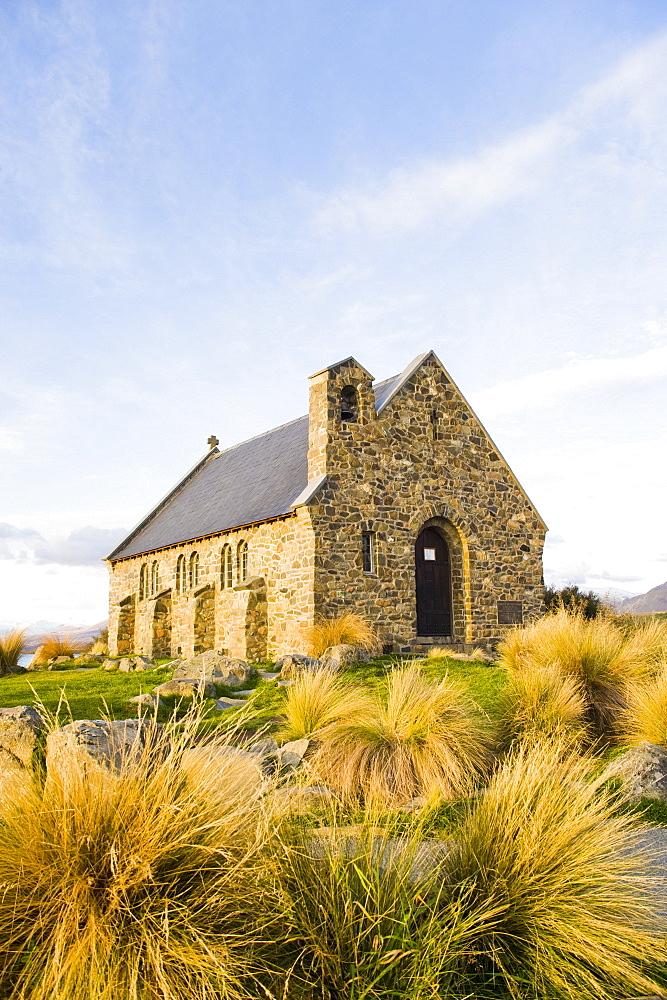 Church of the Good Shepherd, Lake Tekapo, Canterbury, South Island New Zealand, Pacific