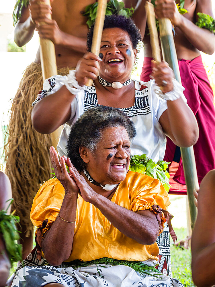 A kava ceremony from the people of Sabeto Village, Viti Levu, Republic of Fiji. - 1112-3869