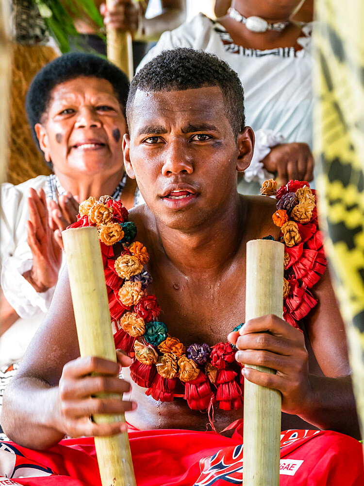 A kava ceremony from the people of Sabeto Village, Viti Levu, Republic of Fiji. - 1112-3871