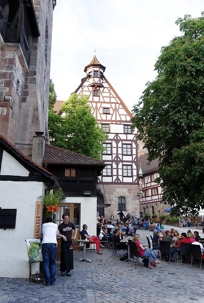 Pilatus House, Tiergaertnertorplatz, Nuremberg, Middle Franconia, Bavaria, Germany