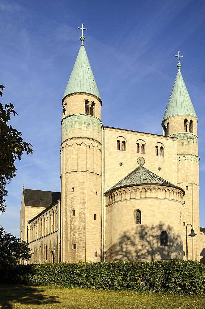 Collegiate Church of St Servatius, Gernrode, Harz, Saxony-Anhalt, Germany, Europe