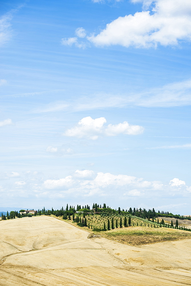 Crete Senesi, near Siena, Tuscany, Italy