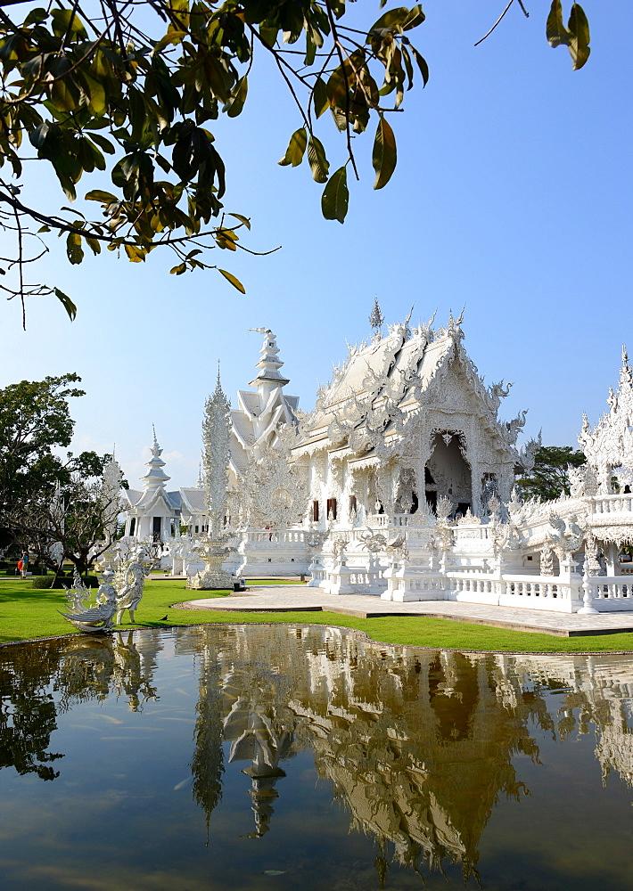 Wat Rong Khun near Chiang Rai, North-Thailand, Thailand
