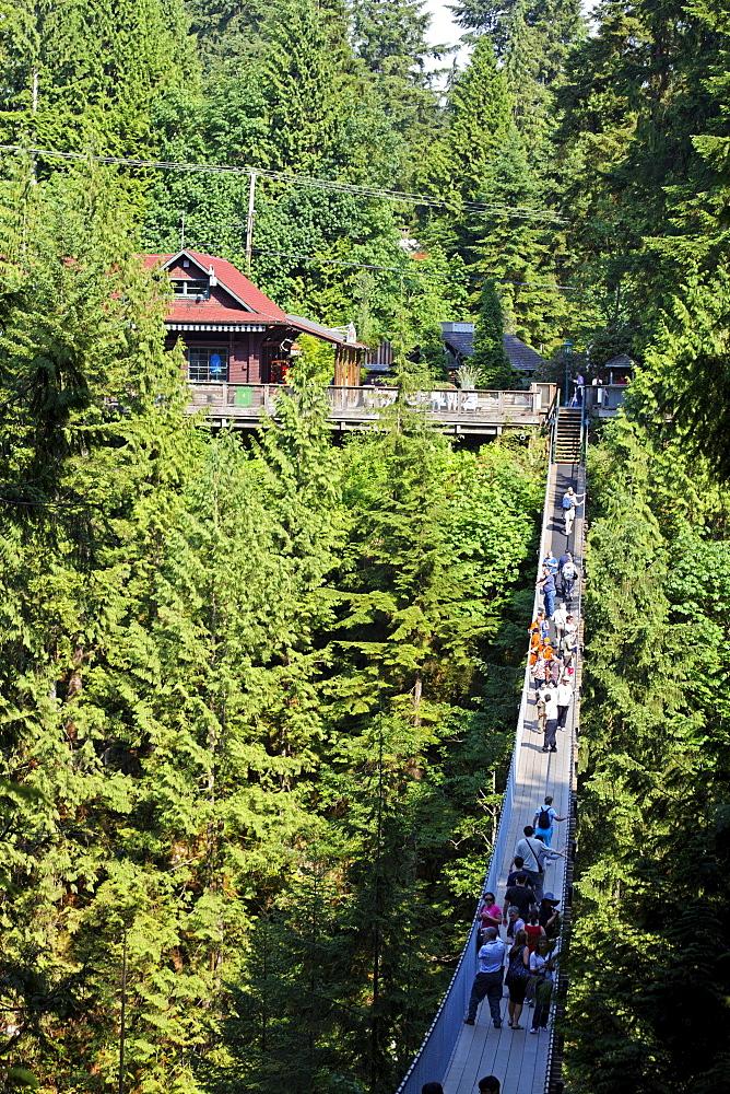 Lynn Canyon, Capilano Suspension Bridge, Post office, Vancouver, Canada, North America