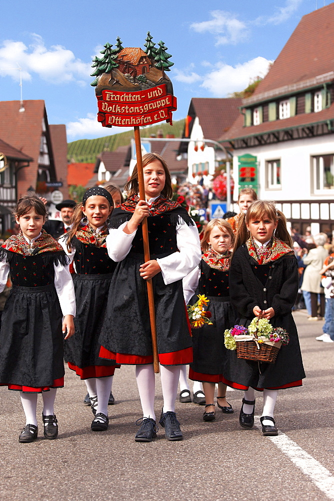 Wine and harvest festival, Sasbachwalden, Baden-Wurttemberg, Germany