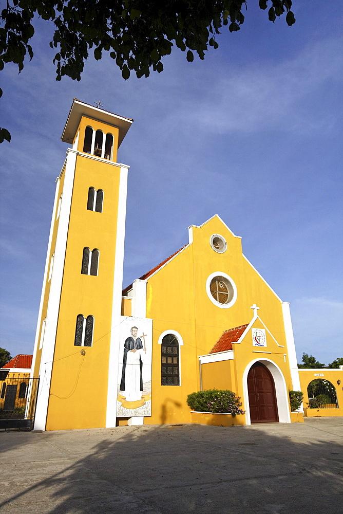 West Indies, Bonaire, Rincon, church