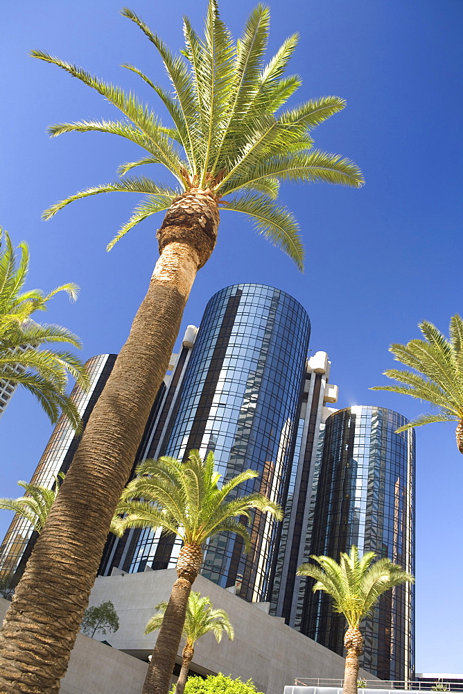 Westin Bonaventure Hotel, Downtown Los Angeles, California, USA, United States of America