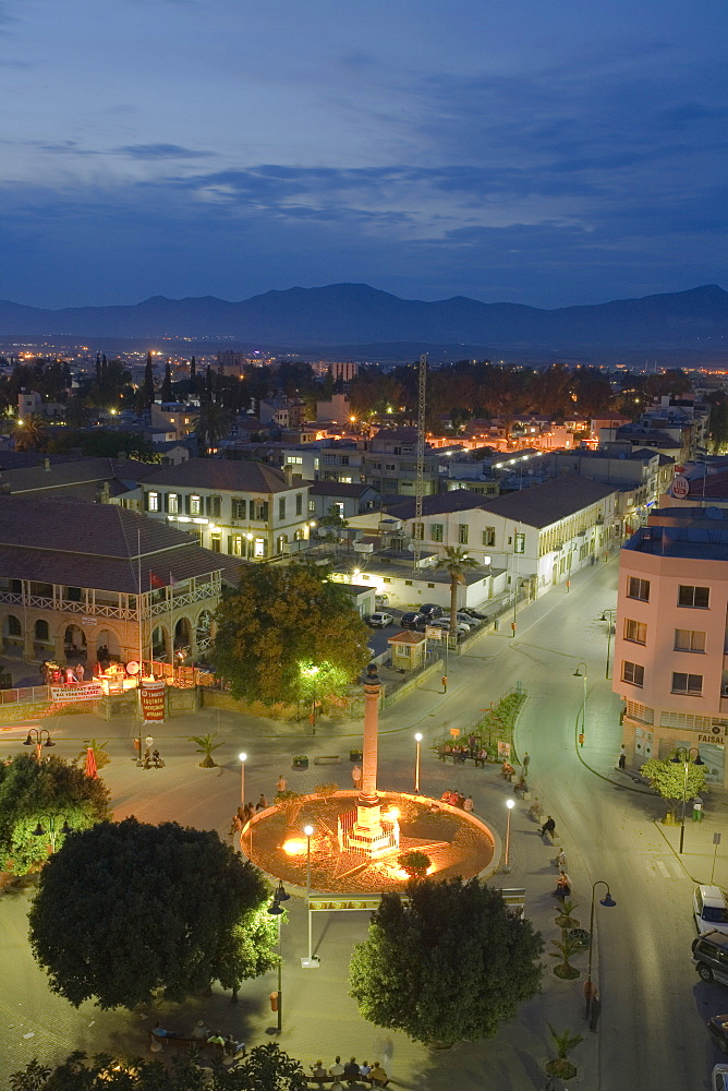 Venetian Column at Atatuerk Meydani, Atatuerk Square, Lefkosia, Nicosia, North Cyprus, Cyprus