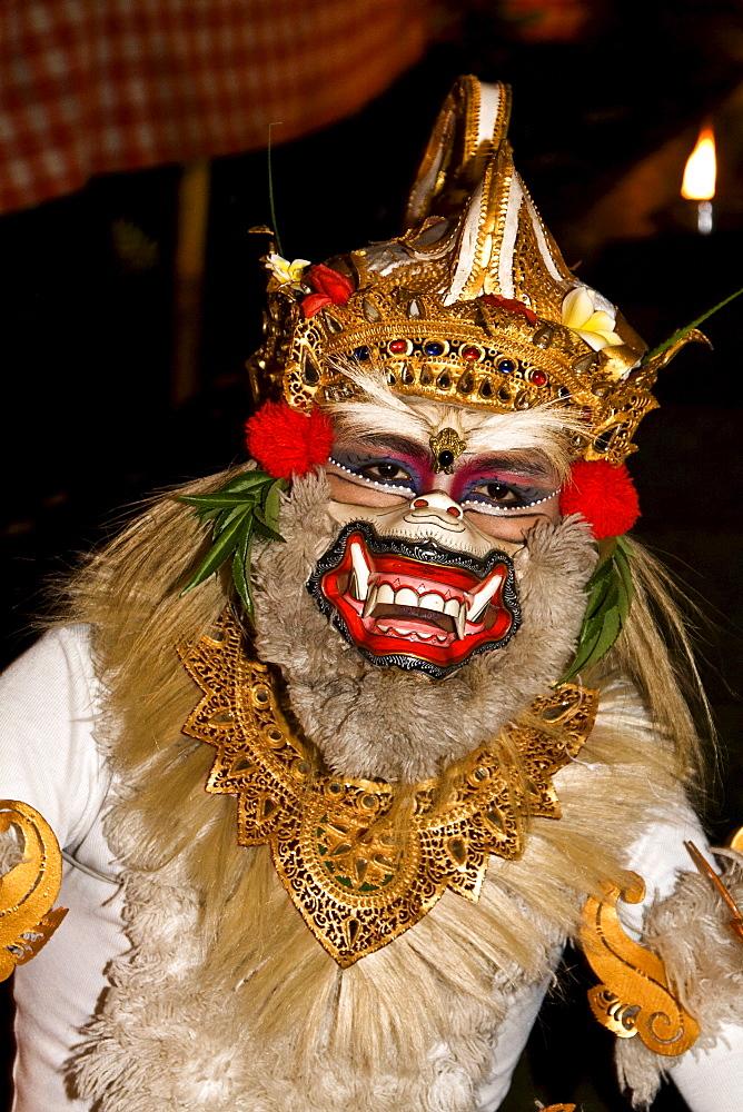Kecak dance in Ubud, Bali, Indonesia