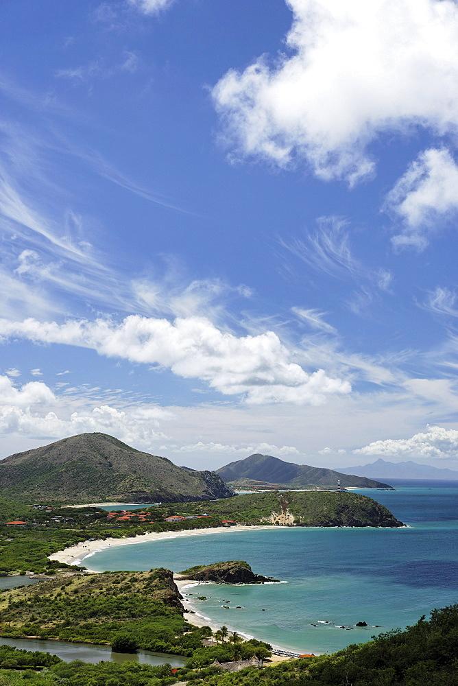 View along coast line, Playa Puerto La Cruz, Nueva Esparta, Venezuela