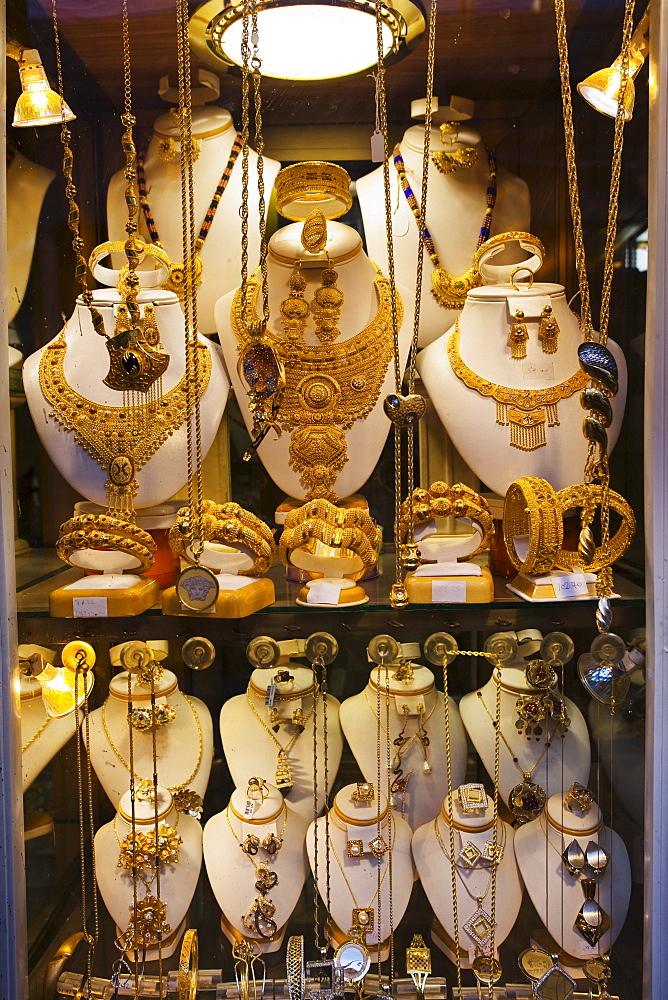 Jeweller's shop in the Medina, Old Town, Tripoli, Libya, Africa