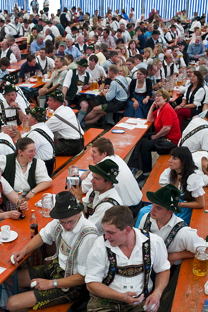 Alpine Finger Wrestling Championship, Antdorf, Upper Bavaria, Germany