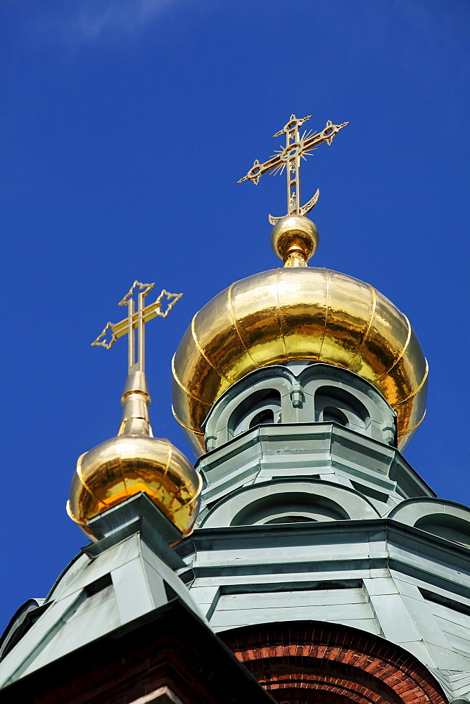 Dome of the Uspenski Cathedral, Helsinki, Finland