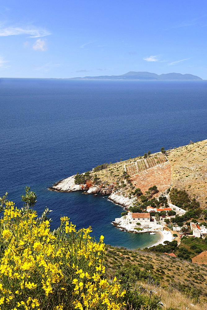 Dubovica Bay, Hvar, Split-Dalmatia, Croatia