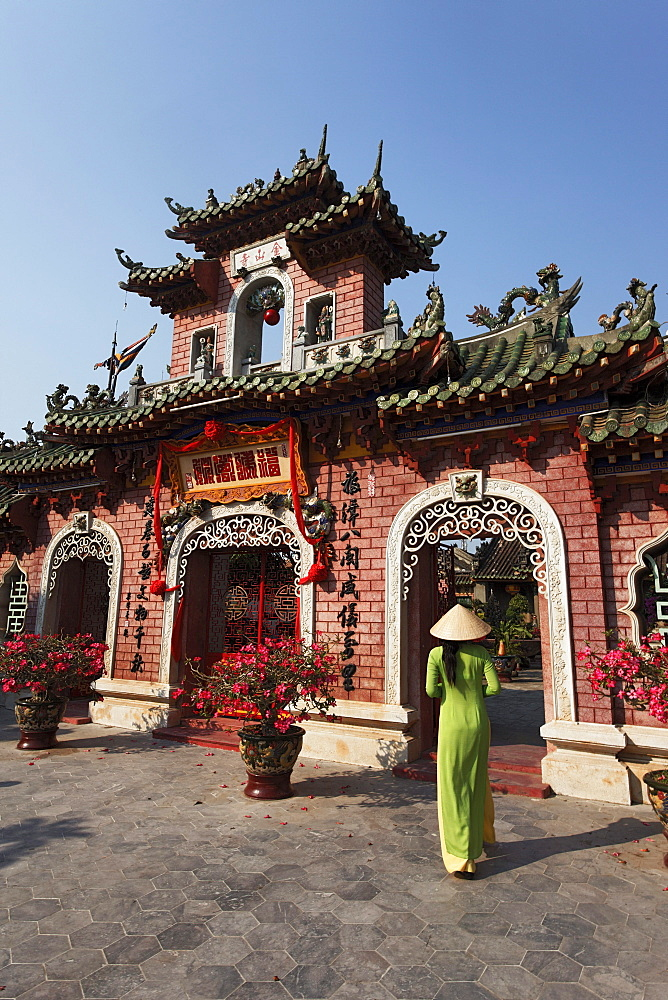 Phuc-Kien-Pagoda, Assembly Hall of the Fujian Chinese Congregation, Hoi An, Annam, Vietnam