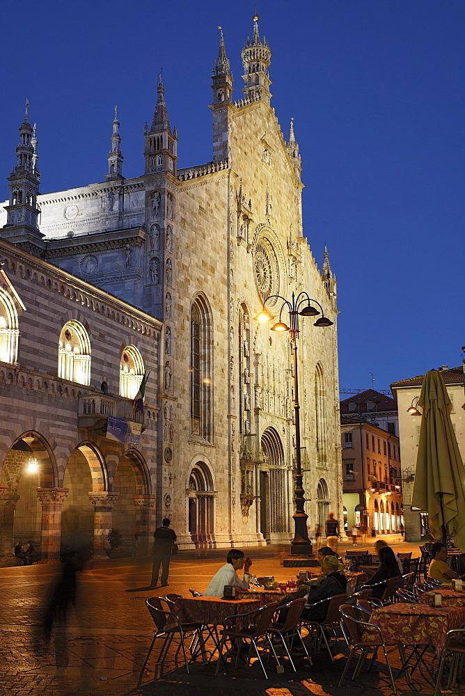 Cathedral, Duomo Santa Maria Maggiore, Como, Lake Como, Lombardy, Italy