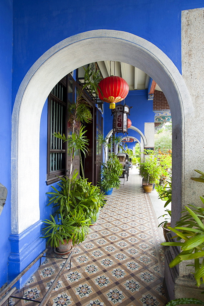 The historic Cheong Fatt Tze Mansion, Georgetown, Penang, Malaysia, Asia