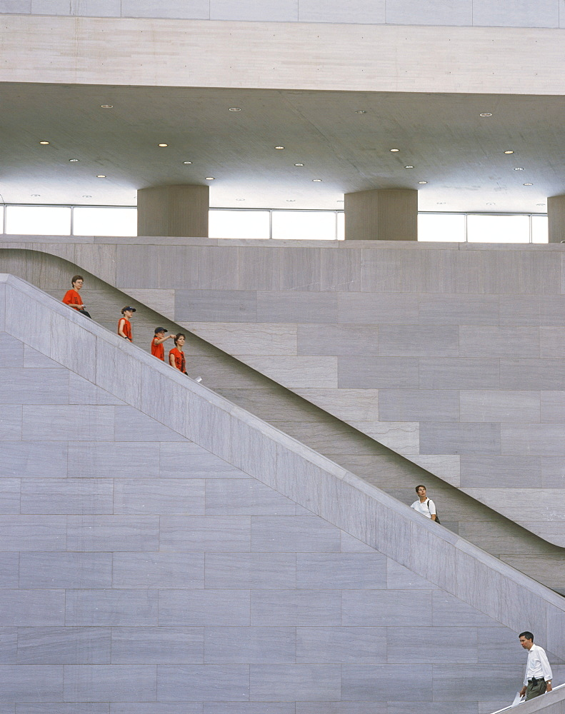 National Gallery, Eastwing, I.M.Pei, Washington D.C., Columbia, USA