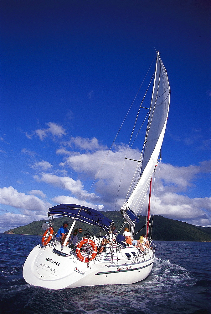 Luxury Yacht Serenade, Near Hayman Resort, Whitsunday Island, Queensland, Australia