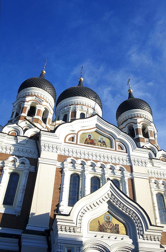 Alexander Nevski Cathedral in the sunlight, Toompea, Tallinn, Estonia, Europe - 1113-53392